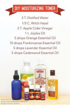 DIY Young Living Essential Oil Moisturizing Toner … – … – Skin Care Tips Essential Oils For Face, Essential Oils For Headaches, Essential Oil Diffuser Blends, Young Living Essential Oils, Orange Essential Oil, Natural Facial Cleanser, Facial Toner, Skin Toner, Facial Tips