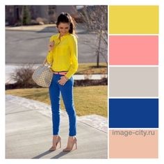 """""""The combination of colors"""" by lyusilgrig ❤ liked on Polyvore"""