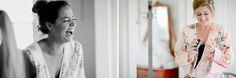 Nashville Wedding Photography. Brad and Jen Wedding Photographers. Vintage Wedding Photos. Newlywed Photos. Floral Pink Bridal Robe. Bride and Bridesmaids Getting Ready. www.bradandjen.com