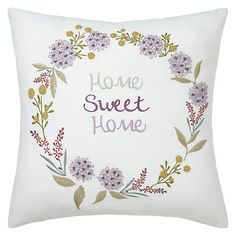 Buy John Lewis Home Sweet Home Cushion Online at johnlewis.com
