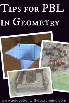 Get creative with project based learning in geometry when students build medieval villages. Read the post for ideas to implement in your classroom.
