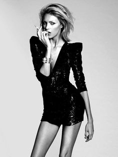 Anja Rubik - The 100 Hottest Supermodels of All Time Anja Rubik, Hi Fashion, Fashion Models, Blonde Fashion, Dress Fashion, Fashion Beauty, Fashion Design, Mode Sombre, Shabby Chic