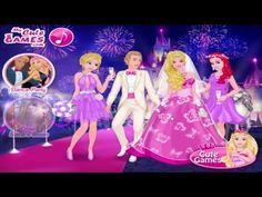 Beautiful Disney Princess Dress up Game Elsa and Ariel at Weeding