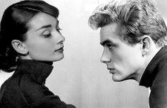Audrey Hepburn & James Dean*..