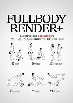 Fullbody Render Plus