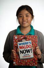 Where's Waldo now? -- by Martin Handford -- (see book here: http://catalog.uwcsea.edu.sg/cataloging/servlet/presenttitledetailform.do?site=103&siteTypeID=-2&bibID=174415 )