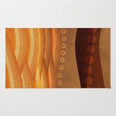 Textures/Abstract 48 Area & Throw Rug by ViviGonzalezArt - $28.00