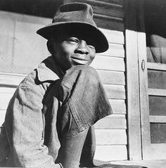 Daytona Beach, Florida. Young boy whose ambition is to become a soldier, 1943 - by Gordon Parks