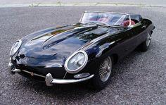 Jaguar E-type - ach, wenn ich nur so könnte wie ich wollte...