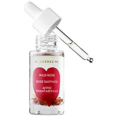 Wild Rose Vitamin C Active Brightening Oil - KORRES   Sephora $54 - minimizes acne scars