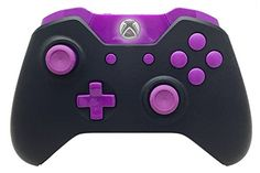 Black and Purple Xbox One Modded Controller with Rapid Fire and Compatible With All Games 1 Advanced Warfare *** See this great product.Note:It is affiliate link to Amazon. #denver