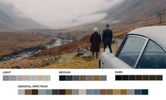 Glen Etive in the Highlands features in the first teaser trailer for the new James Bond film, Skyfall. Movie Color Palette, Colour Pallete, Color Schemes, Color Palettes, Stanley Kubrick, Movies In Color, Color In Film, Roxy, James Bond Skyfall