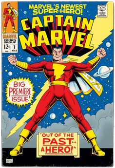Captain Marvel #1: What if Marvel Comics had bought the rights to Captain Marvel/ Shazam. By Mark Lewis.