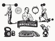The Strength Guys - Program Illustrations
