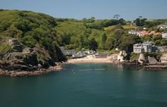 Readymoney Cove, Fowey, Cornwall - UK. Childhood holidays were spent at Fowey. I love it. Cornwall is a magical place. Such beautiful walks and amazing natural history