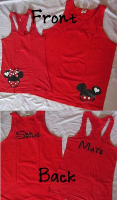 Cute his and her mickey shirts