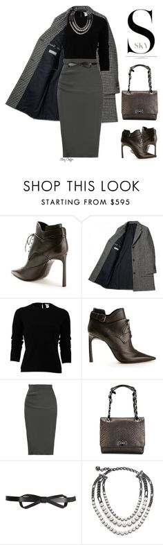"""The Professional"" by mcheffer ❤ liked on Polyvore featuring moda, Lanvin, Oscar de la Renta, women's clothing, women, female, woman, misses y juniors"