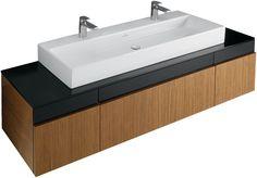 Vanity unit for washbasin:Villeroy & Boch