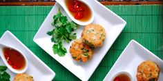 Thai Fish Cakes - Dipping Sauce - Canapes & Cocktails - a Julie Goodwin recipe