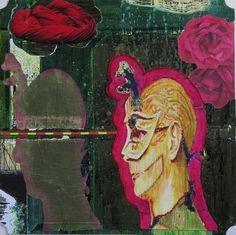 Chris F: Mick ( Opera Rose). MIXED MEDIA