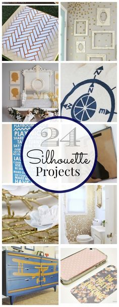 24 Awesome Silhouette Projects | Classy Clutter