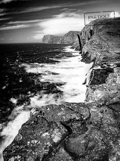 Popular on 500px : LE in Bøsdalafossur Waterfall  Faroe Islands by PAkDocK