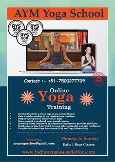 Whether you are a beginner or more advanced in your practice, we offer online courses for all. #yoga #onlineyoga #yogattc #yogateachertraining #yogaforall #yogapractice #yogaathome