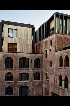 One of Kanaal's warehouses. Originally built in the 1850s, it's been restored and expanded by Belgian architects Coussée & Goris.