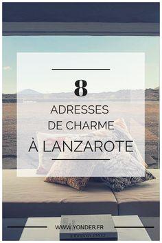 8 adresses de charme à Lanzarote #canaries #lanzarote Lanzarote Hotels, Villa, Instagram Marketing Tips, Voyage Europe, Destination Voyage, Europe Destinations, Canary Islands, Eurotrip, Archipelago