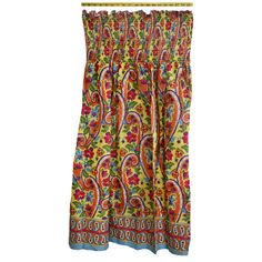 Style In An Instant- 45In Sheared Dress Paisley Floral Multi Cotton