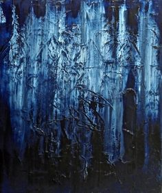 24 hours - minimal abstract painting by Polish visual artist Jacek Sikora