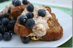 French Toast Cups - healthy protein breakfast