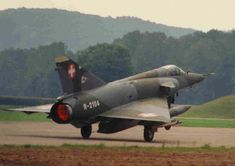 Mirage III RS Swiss Air, Military Aircraft, Airplanes, Air Force, Fighter Jets, Aviation, Cold War, Military History, Military Men