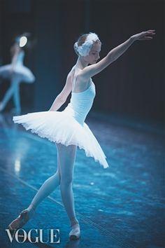 blue swan Novosibirsk ballet ♥ www.thewonderfulworldofdance.com #ballet #dance