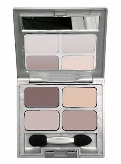 Matte Collection Quad Eye Shadow  DESCRIPTION Silky smooth formula. Easy to blend. Safe for sensitive eyes and contact lens wearers. Shade :   Quartz quarter  Net Wt. 0.22 Oz/ 6.3g  Price : $6.75