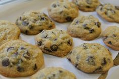 PASSOVER Chocolate Chip Cookies - try with gluten free matzo meal