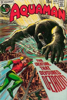 Aquaman #56 (DC, 1971) Nick Cardy Cover #pulp #comics
