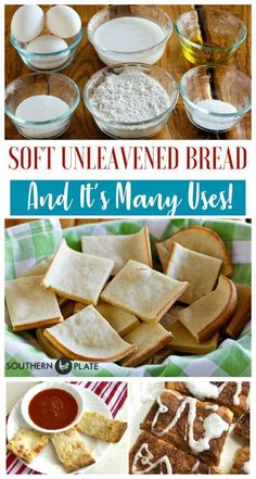 Soft Unleavened Bread ~ www. Soft Unleavened Bread ~ www. Feast Of Unleavened Bread, Passover Recipes, Jewish Recipes, Passover Meal, Passover Bread Recipe, Passover Traditions, Seder Meal, Crack Crackers, Gourmet