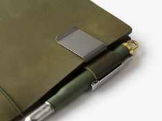 Olive Edition TRAVELER'S notebook - Available for pre-order at Misc