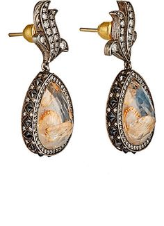 Sevan Biçakçi Intaglio Drop Earrings - - Barneys.com
