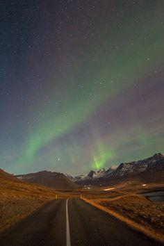 Last night in Faskrudsfjordur (Iceland) by *Jonina*