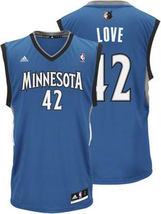 Minnesota Timberwolves Jersey, adidas Revolution 30 Blue Color