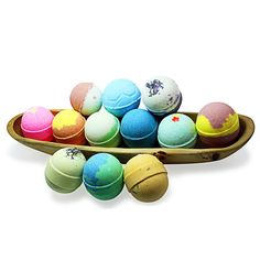 Suezbana handmade bath bombs collection , Bath bombs melt with coconut butter and Shea butter