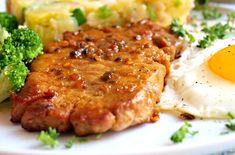 Vepřové karé jako minutka No Salt Recipes, Pork Recipes, Cooking Recipes, Pork Tenderloin Recipes, Risotto, Mashed Potatoes, Good Food, Food And Drink, Thing 1