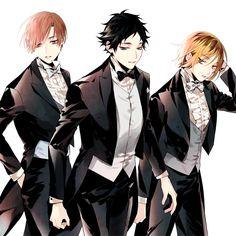 Haikyuu!! - Shirabu, Akaashi & Kenma