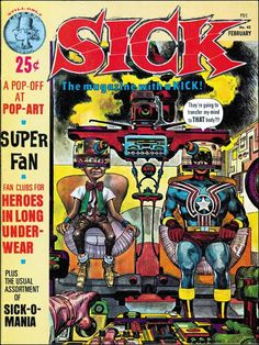 Sick Magazine. Issue 42