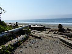 china beach Vancouver Island BC Canada