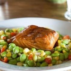 Soy Good Maple-glazed Salmon (via www.foodily.com/r/I1VqmQFkc)