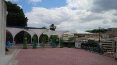 Esplanada do Torel situada no miradouro do jardim do Torel em Lisboa
