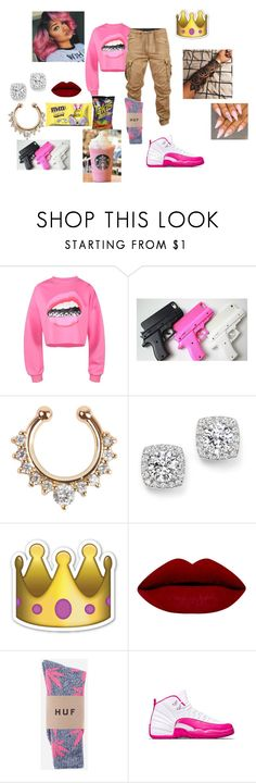 """""""Shoot Out"""" by onsavagemood ❤ liked on Polyvore featuring G-Star Raw, Bloomingdale's and HUF"""